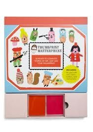 30 ready to create, unique personalised pieces of art - just add your own thumbprints. This set creates postcards using imagination and a little bit of ink! Just press your thumb into the ink pads provided (two colours) and then use them to produce your new picture.   Whirligig - £10.99
