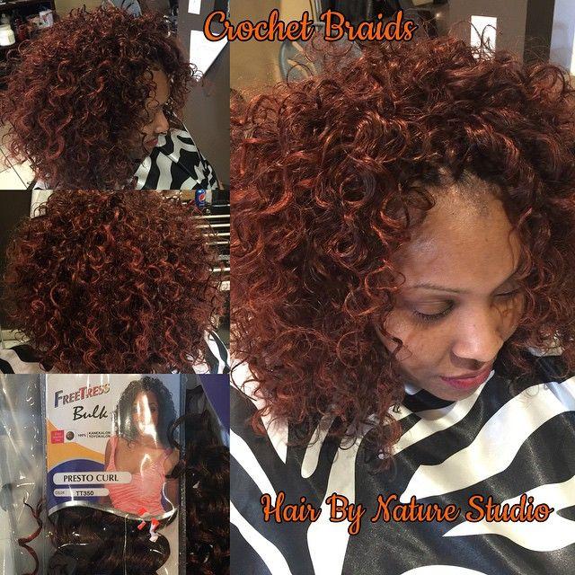Crochet braids with presto curl #teamcrochetbraids