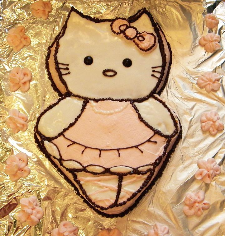 """Cake """"hello kitty""""  Торт """"hello kitty""""."""