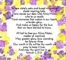 LSU Alma Mater by Alexis Marshall