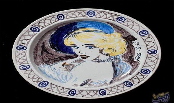 متحف تشارلستون يضم مجموعة من الأعمال الفنية الرائعة Duncan Grant Vanessa Bell Dinner Service