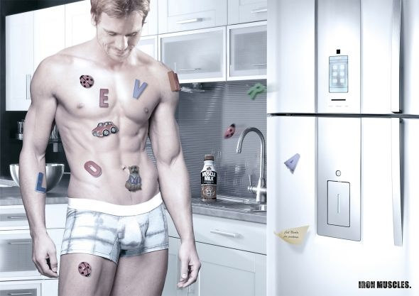 Muscle Milk: Man