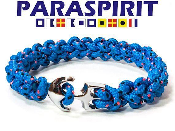 Paraspirit SKIPPER nautische Seil Armband mit von Paraspirit