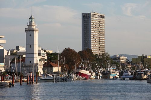 Rimini. Il porto