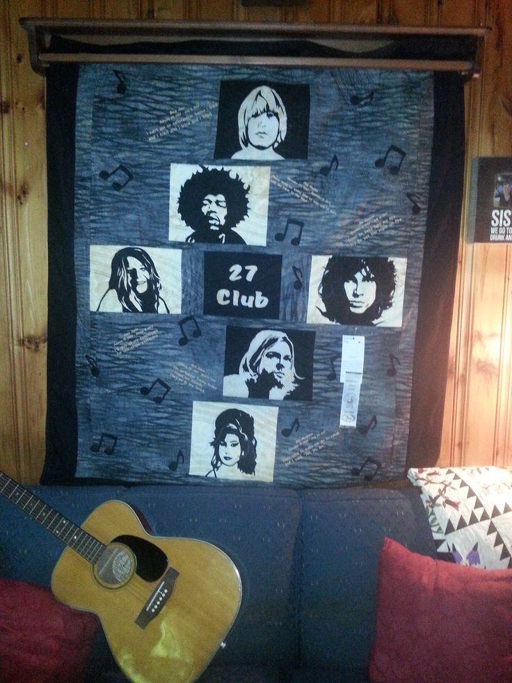 27 Club - Brian Jones, Jimi Hendrix, Janis Joplin, Jim Morrison, Kurt Cobain and Amy Winehouse
