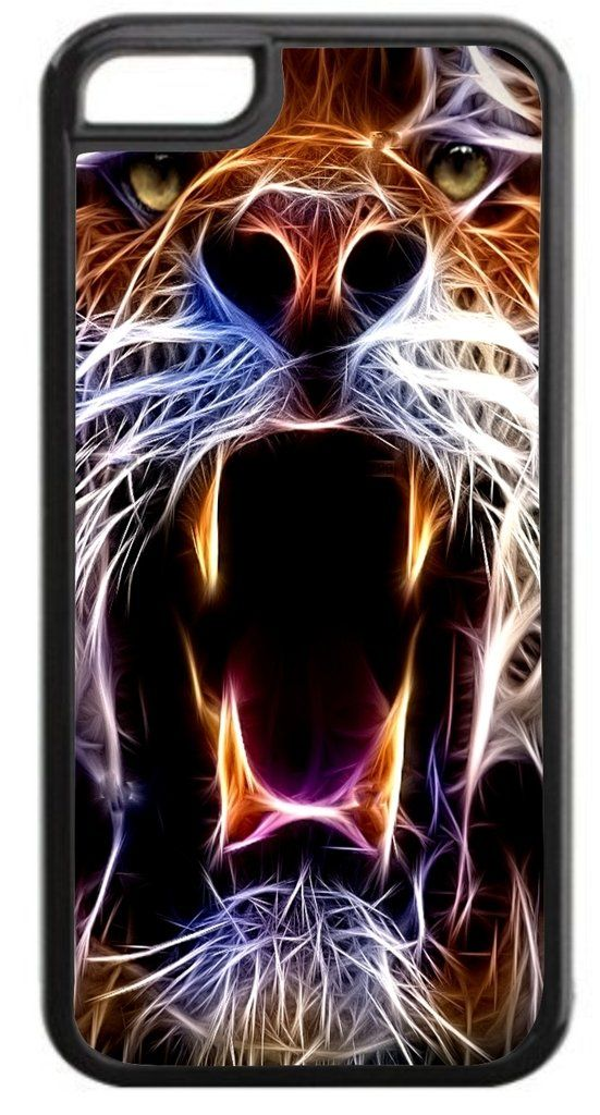 Fractal Tiger Roar Print Design Black Plastic Apple iPhone 7 Case Made in the U.S.A. High Quality Black Plastic Case for the Apple iPhone 7! THIS CASE IS NOT COMPATIBLE WITH THE APPLE IPHONE 7 PLUS (7+). Permanent Quality Vibrant Flat-Printed Image. No Textured or 3D Print. Quick Processing and Shipping! Ships from the U.S.A. High Level of Customer Service. Satisfaction Guaranteed or Replacement or Refund. Jack's Outlet Inc. is the Brand Owner and Manufacturer of this item. At Jack's…