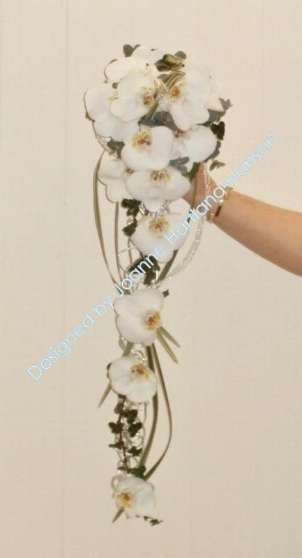 8 best Rose and Orchid Wedding Bouquets and Other Things images on ...