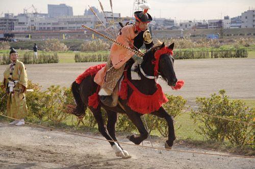 Yabusame - mounted archer