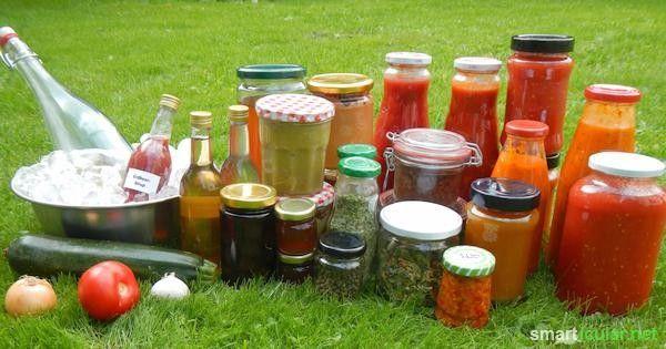 43 Wege Lebensmittel länger aufzubewahren und haltbar zu machen