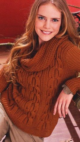 Knitting - Pullover- Russian, use Google Chrome to translate