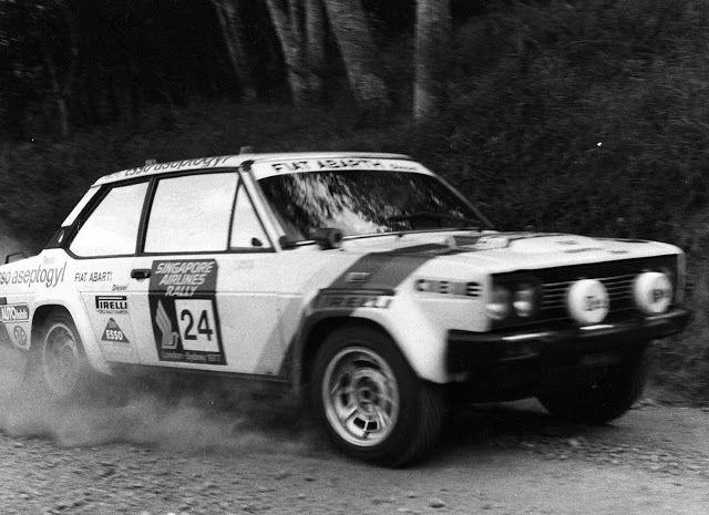 "Passione Auto Italiane: Fiat 131 Diesel Abarth ""London - Sydney"" (1977)"