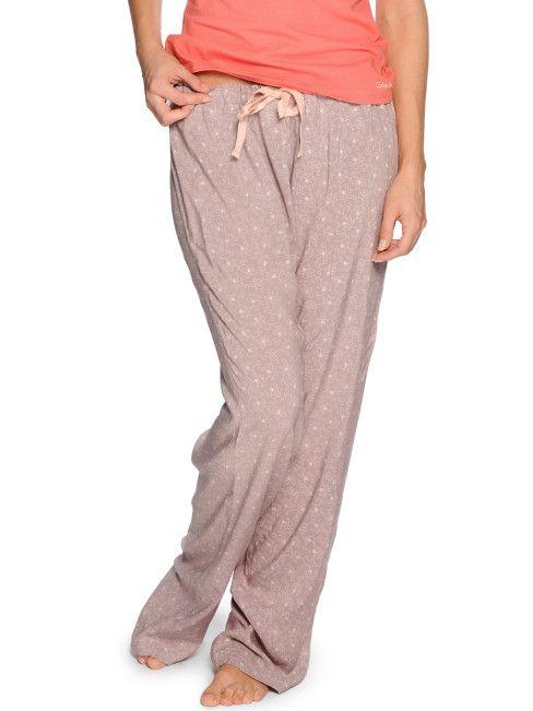 Calvin Klein Pyjamahose, mauve
