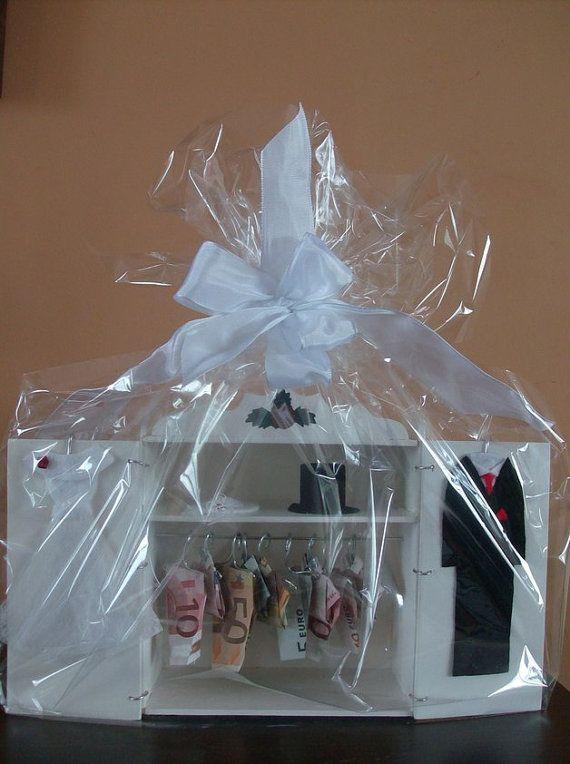 Exklusives Hochzeitsgeschenk, Geldgeschenk, Gastgeschenk zur Hochzeit - Hochzeitsschränkchen