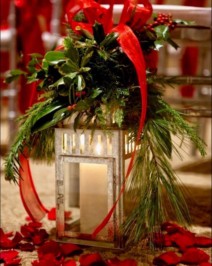 1139 best Christmas Table Decorations images on Pinterest - christmas floral decorationswhere to buy christmas decorations