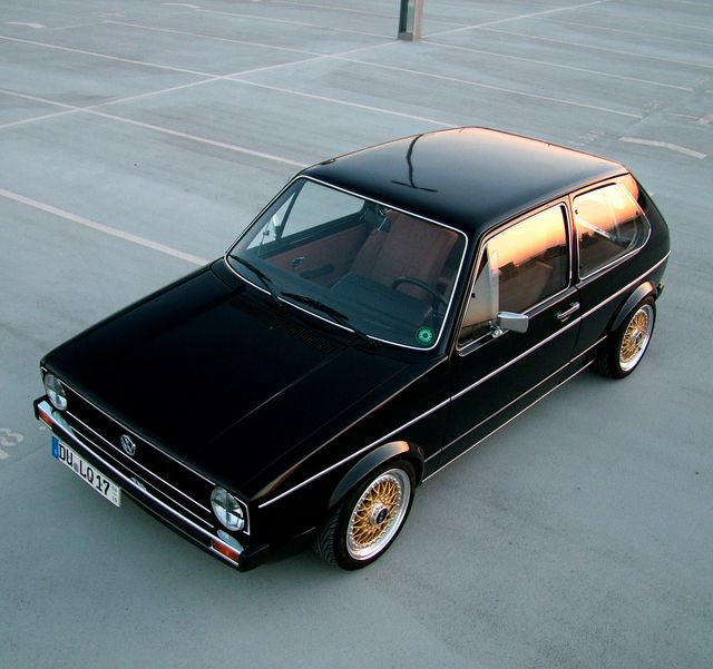 Volkswagen Golf 1 - 1974. BBS RS.