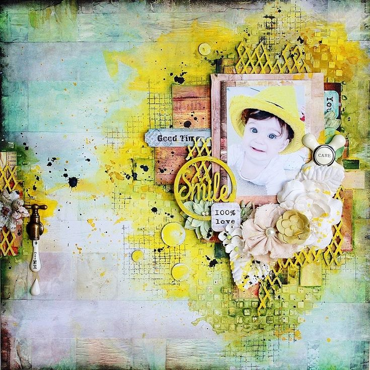 Great tutorial for mixed media backgrounds using #Gelatos and #WhippedSpackle