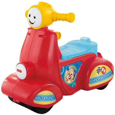 Fisher-Price Laugh & Learn Smart Stages Scooter Image 3 of 10