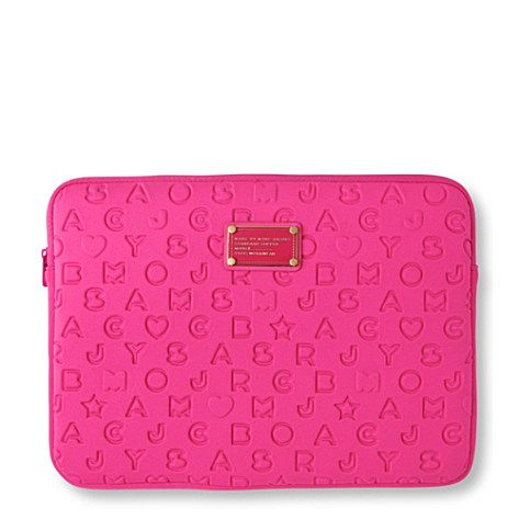 Marc by Marc Jacobs MacBook Pro Case. Please tell me that I can still buy one somewhere...