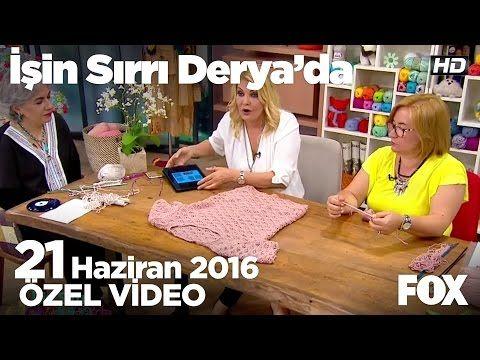 Deniz dalgalı bluz nasıl yapılır? İşin Sırrı Derya'da 21 Haziran 2016 - YouTube