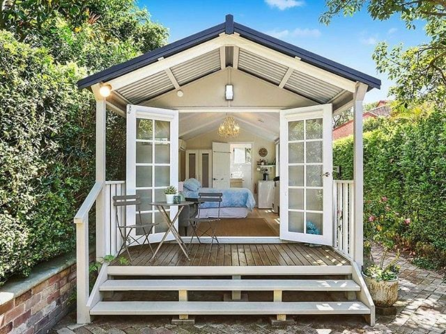 Imagine If You Could Get As Much Space As An Extension But In Less Time And  For 1/3 Of The Cost! Enter @melwood_cabanas. Garden Rooms That Give You  More ...