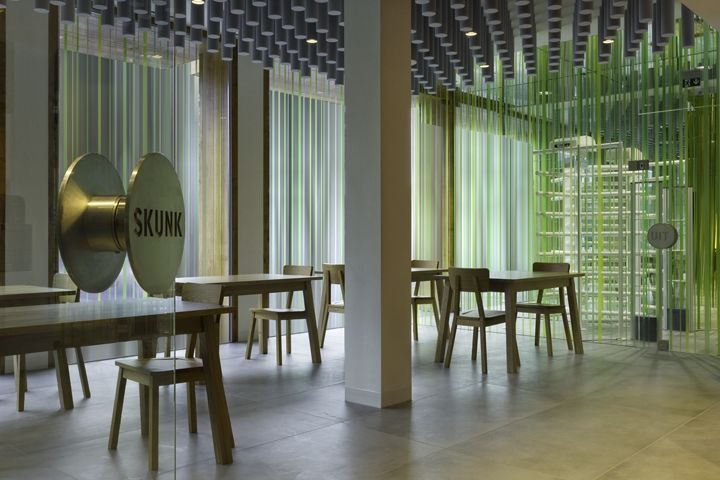 Skunk & Relax coffeeshop by Maurice Mentjens, Sittard   The Netherlands cafe