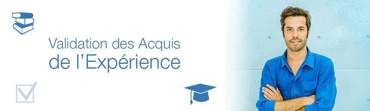 Depuis 2001, il existe un dispositif permettant d'obtenir un diplôme : la Validation des Acquis de l'Expérience (VAE). Accessible à toute personne, quel que soit son âge, son statut professionnel ou son niveau d'études, elle vous permet de valider les acquis de votre expérience et de les concrétiser par un diplôme.
