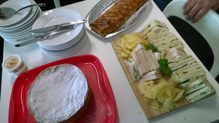 It's #CulturalFriday at blur - we have celebrated some English food: cucumber sandwiches, potted shrimp from the Lake District, a home-made sausage plait and a Victorian Sponge