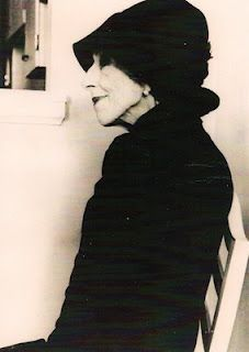 """Karen Blixen - Danish baroness who wrote marvelous books and stories under her pen name Isak Dinesen.  You probably know her for her account of growing up in Kenya, """"Out of Africa"""" and """"Babette's Feast."""""""