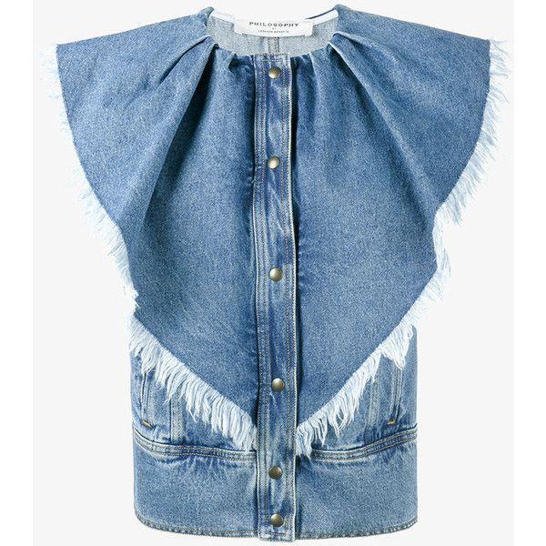 17 Best ideas about Sleeveless Jean Jackets on Pinterest | V ...