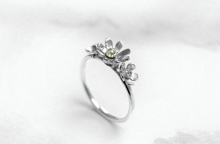 Handmade Art Jewelry Bronze Adjustable Ring Pink Lotus Flower Flora Ring 20/% OFF