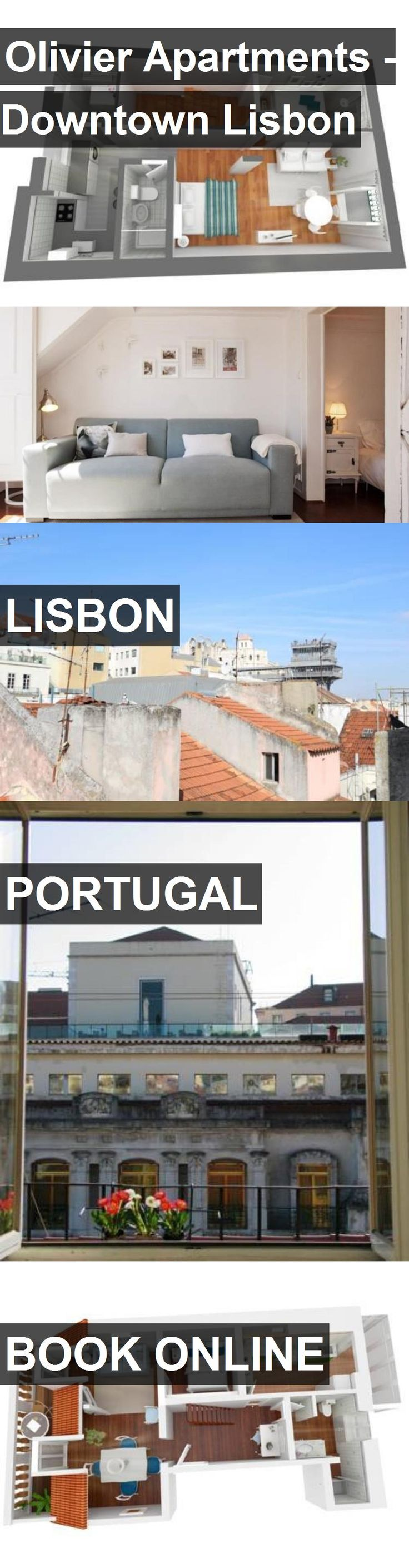 Olivier Apartments - Downtown Lisbon in Lisbon, Portugal. For more information, photos, reviews and best prices please follow the link. #Portugal #Lisbon #travel #vacation #apartment