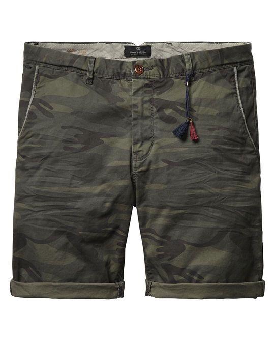 Scotch & Soda Men's Italian Chino Shorts