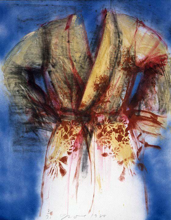 jim dine robe paintings | Jim Dine Artwork Details
