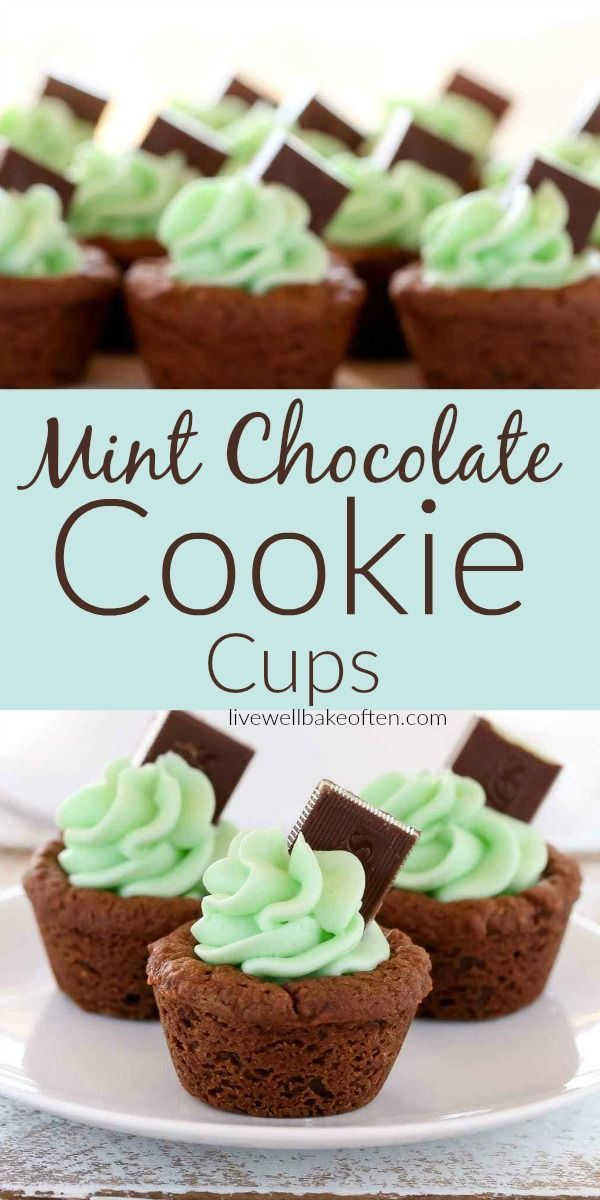 Mint Chocolate Cookie Cups Taste As Good As They Look Homemade