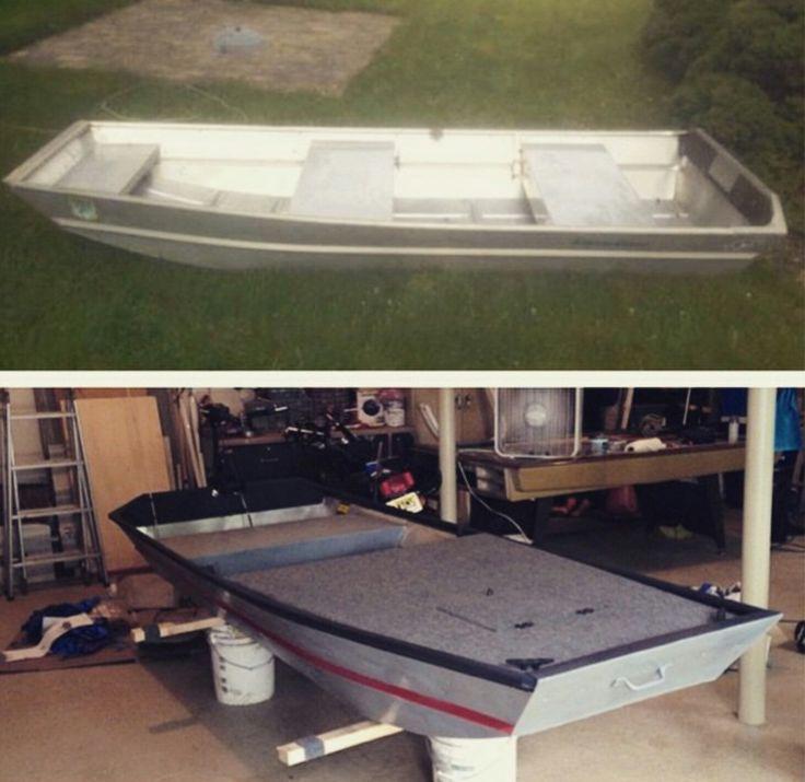 Small custom jon boat | Jon boats | Jon boat trailer, Jon ...