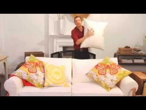 Learn how to arrange pillows to make a Picture Perfect Setting #MargateLounge http://bit.ly/1MGpgFX
