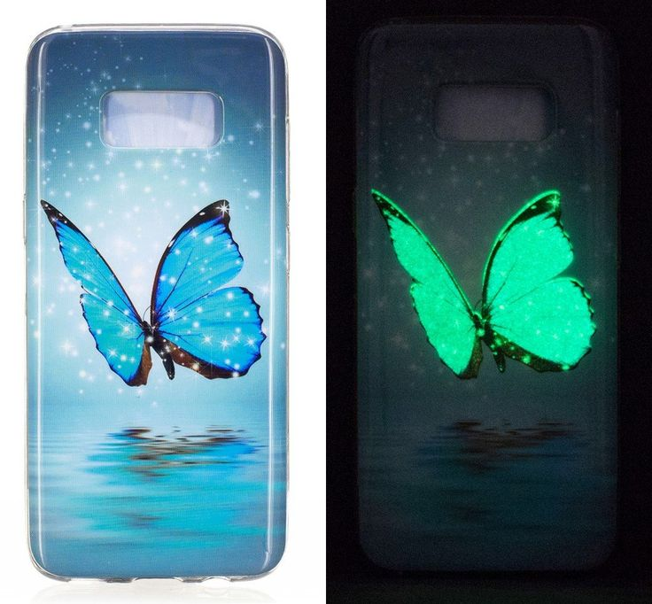 Galaxy S8 Phone Bag ,Stingna Fluorescence Luminous Soft Case Cover Glow In The Dark For Cele phones Samsung Galaxy S8 & Free Gift (BUTTERFLY). √√ Type -- 100% brand new, Retail package . √ Advantage -- Very Comfortable Touching + Ultra Thin flexible Feel+ Full Range Protection. √ Function -- Protect your phone from dirt, scratches + anaglyph coloured drawing or pattern make you phone feel Cool or Adorable. √ And it is convenient to find your phone when you in a dark place. √ Ultra-thin...