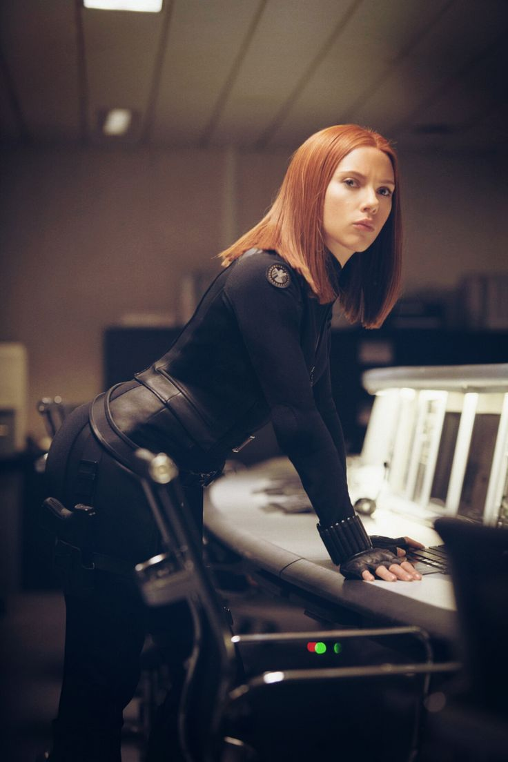 Black Widow Looking Absolutely Gorgeous