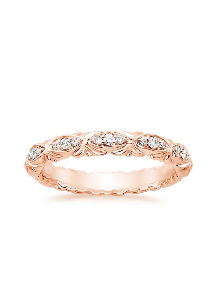 Paloma Diamond Ring in 14K Rose Gold