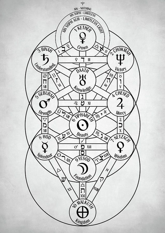 Kabbalah Tree Of Life Date A Live / The tree of life also contains a holographic property, in that each sefirah in the tree contains within it a miniature version of the entire tree.