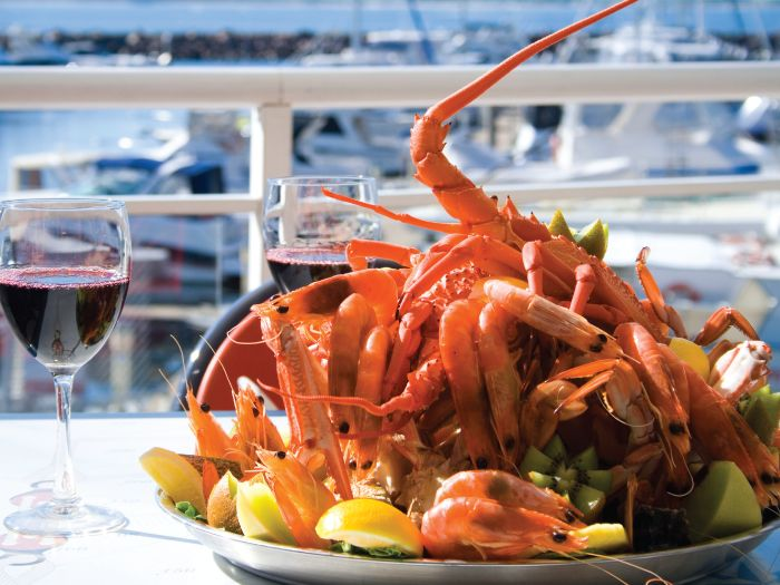 BEST SEAFOOD IN NELSON BAY. Relax and enjoy superb water views from Rock Lobster Restaurant's all weather alfresco dining area, or air conditioned restaurant. Choose from a menu packed with fresh local seafood and produce. Nelson Bay, Port Stephens. #rocklobster #portstephens #nelsonbay