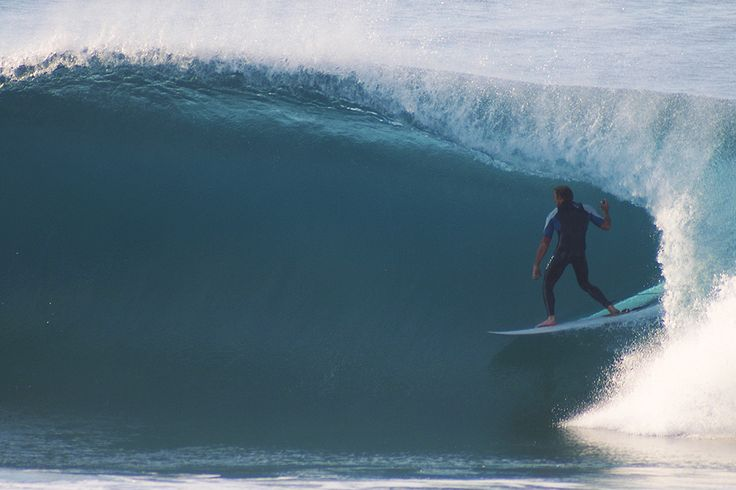 Good surf in on a Durban beach.