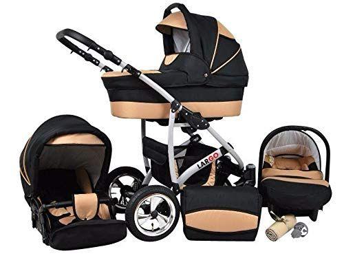 Kinderwagen Largo 3 In 1 Set Wanne Buggy Babyschale Autositz Black Coffe Eur 299 00 Mehr Als 0 Bewertung Kinderwagen Kinder Wagen Kinderwagen Gunstig
