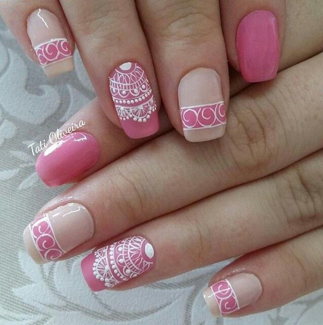 So pretty #uñasdecoradas