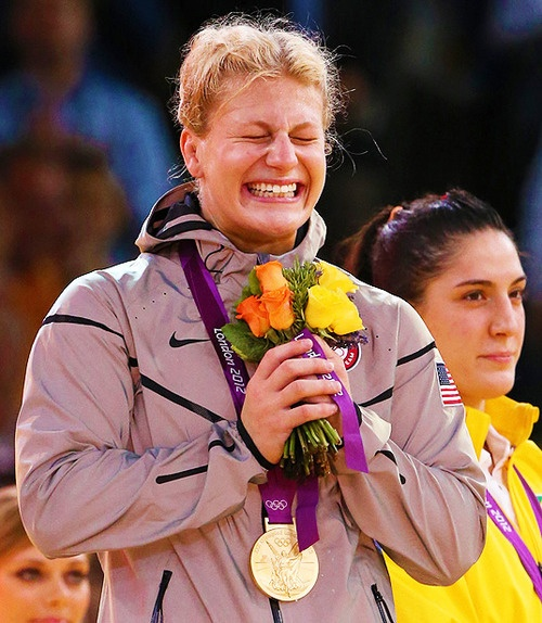 When Kayla Harrison stood on the podium to accept Team USA's first gold medal in judo, you wouldn't have guessed that this Olympian - who so easily dispatched her opponents - had even greater personal obstacle to overcome. Molested by her childhood coach, Kayla could easily have run away from the sport she loved. Who would have blamed her? But she showed her true grit to not only grapple with her terrible experience but also to courageously share her story with the world. #PushGirls
