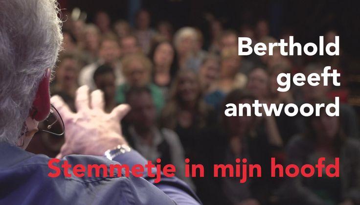 In deze video geeft Berthold Gunster antwoord op de vraag: hoe laat ik het negatieve stemmetje in mijn hoofd stoppen? Volgens Berthold hoeft het stemmetje niet gestopt te worden, maar moet hij serieus genomen worden en ingezet worden als hulpmiddel.