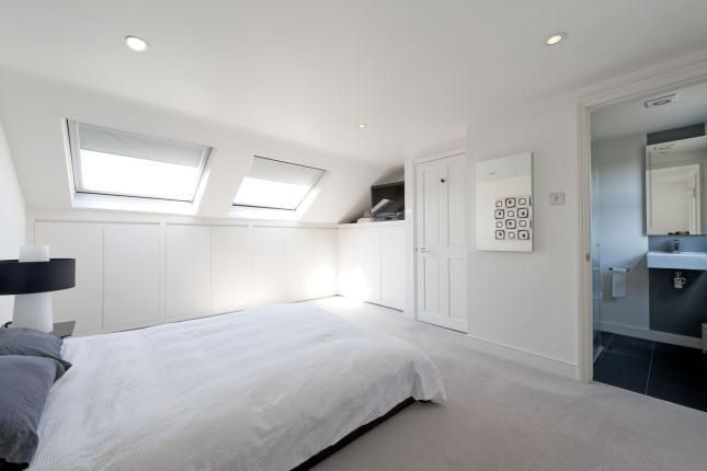 gorgeous grey and white loft/attic bedrooms with ensuite.