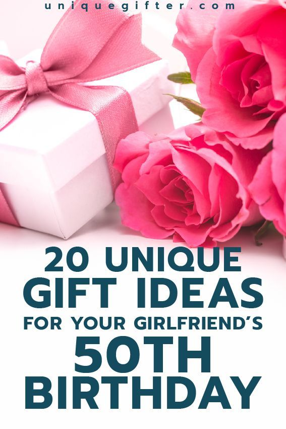 Gift Ideas For Your Girlfriend S 50th Birthday Gift