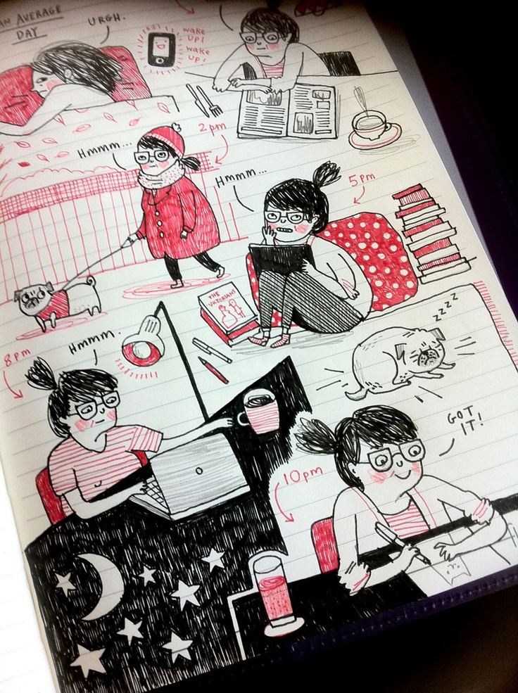 gemma correll and her merry band of misfits: Filofaxin'