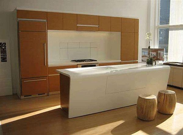 Model Kitchen @ Riverhouse Condos, New York